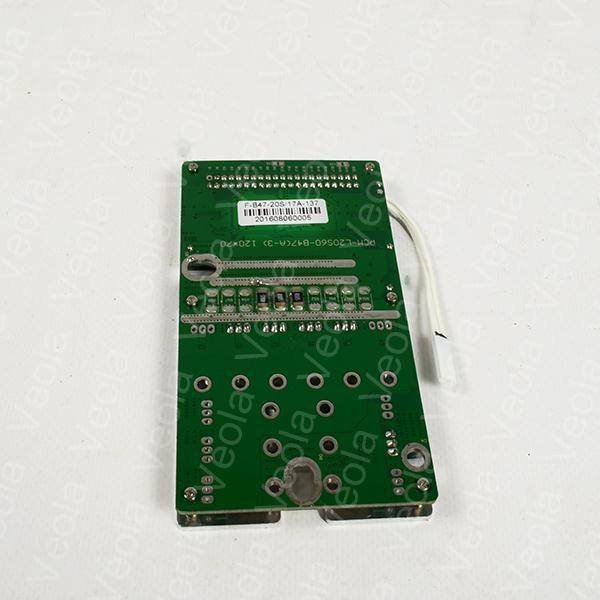 BMS для литий железо фосфатных аккумуляторных батарей на 60V