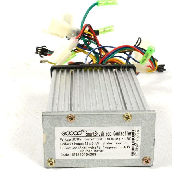 Контроллер для электровелосипедов:BL-ZZW на 48 V