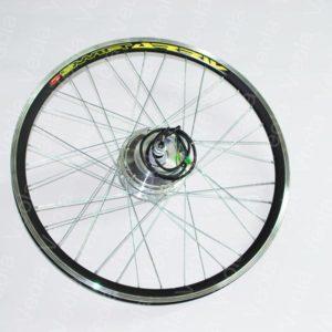 Заспицованное мотор колесо на заднюю ось электровелосипеда 36 вольт 350 Вт