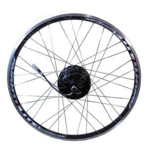 Заспицованное Мотор-колесо VEOLA XF08R (36V,350w) на заднюю ось электровелосипеда
