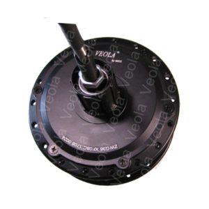 Мотор-колесо VEOLA XF08С (36V,350w) на заднюю ось электровелосипеда