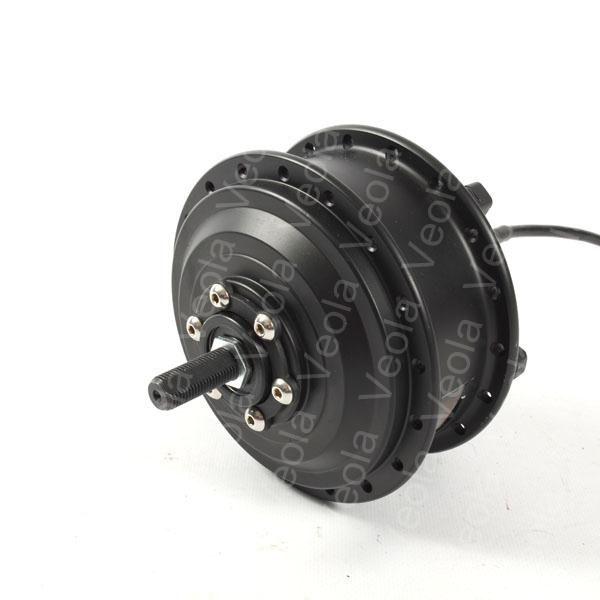 Мотор-колесо VEOLA XF07F(36V,350w) редукторное на переднюю ось электровелосипеда