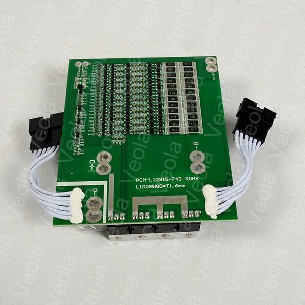 BMS для литий железо фосфатных аккумуляторных батарей на 36V