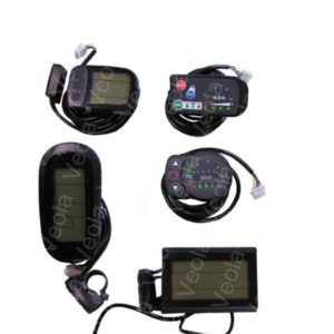 LCD, LED дисплеи для электровелосипедов
